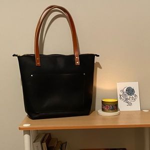 Portland Leather Tote (Madewell style)